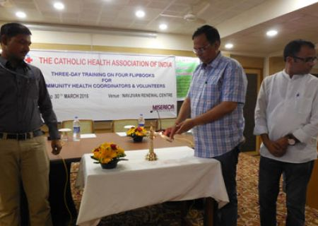 Shri Satyender Jain, Hon. Health Minister of Delhi, Inaugurates the 3-day Training on Flip Books
