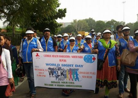 World Sight Day Rally at New Delhi