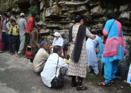 Uttarakhand Flood Relief - A Medical Camp